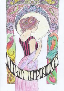 Jugendstiel Within Tempation Poster